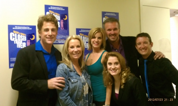 Sal Viviano, Kathie Lee Gifford, Jenn Colella, Christiane Noll, George Dvorsy and Andrew Gerle