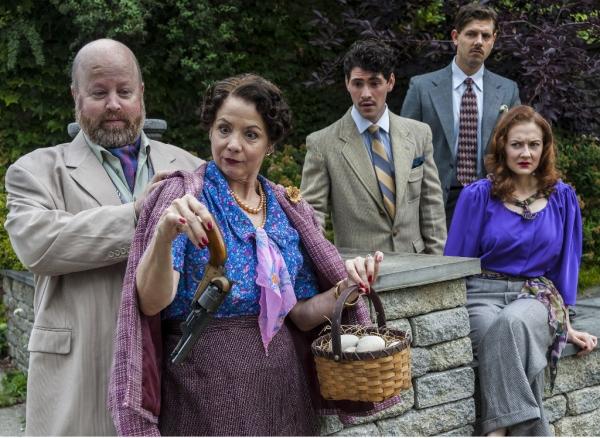 Photos:  Sneak Peek at Agatha Christie's THE HOLLOW at CRT