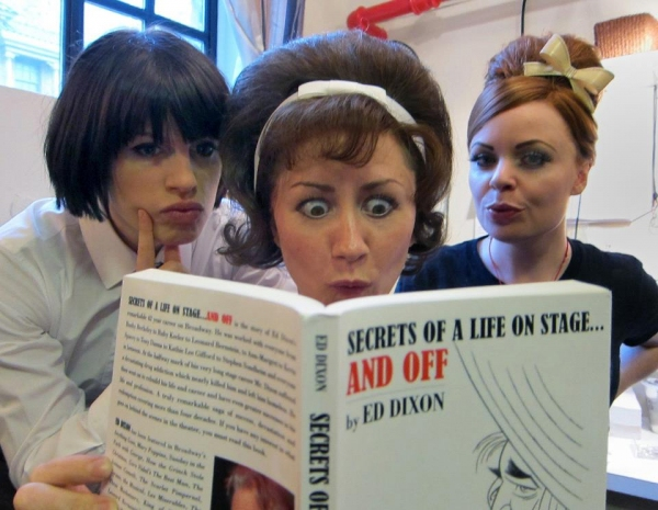 Jemima Rooper, Claire Lams and Suzie Toase