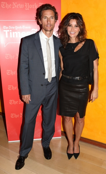 Matthew McConaughey & Gina Gershon at William Friedkin, Matthew McConaughey and Gina Gershon Visit TIMESTALKS: STAGE TO SCREEN