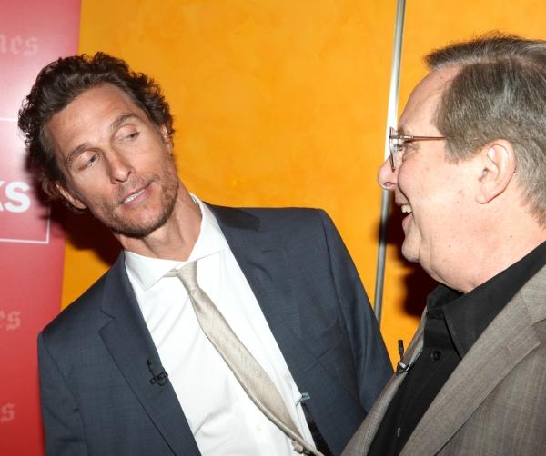 Matthew McConaughey & William Friekin