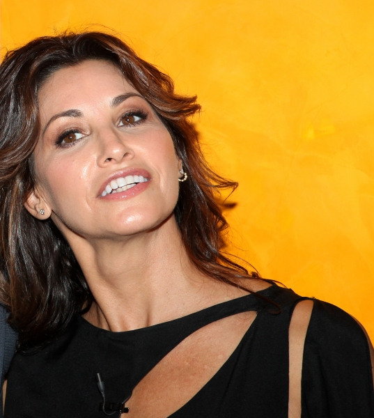 Gina Gershon at William Friedkin, Matthew McConaughey and Gina Gershon Visit TIMESTALKS: STAGE TO SCREEN