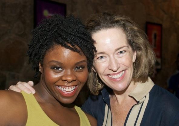 Feleceia Benton and Diana Sheehan