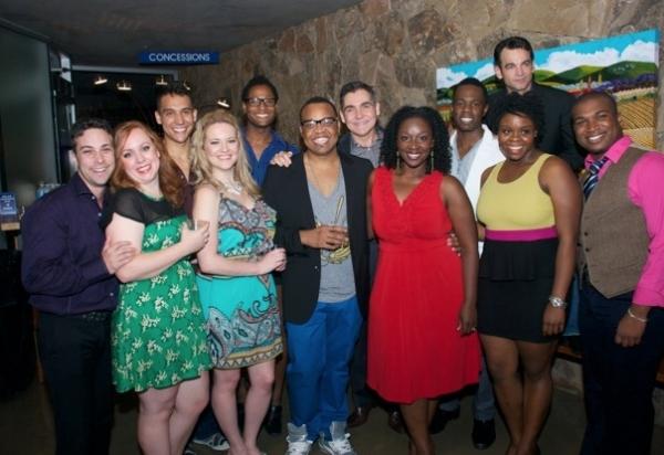 Photo Flash: SMOKEY JOE'S CAFE Opening Night Celebration