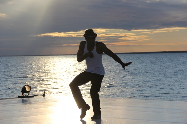 Jared Grimes at Fire Island Dance Festival 2012 Earns $374,260 for BC/EFA!
