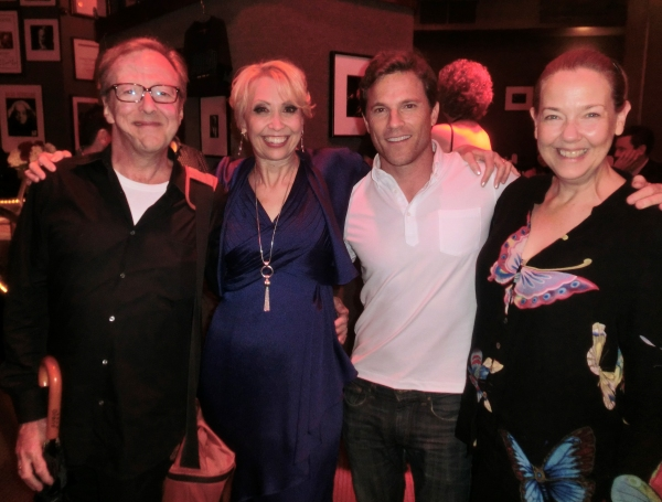 Ed Hibbert, Julie Halston, Mike Doyle, Harriet Harris at Julie Halston Brings CLASSICAL JULIE to Birdland!