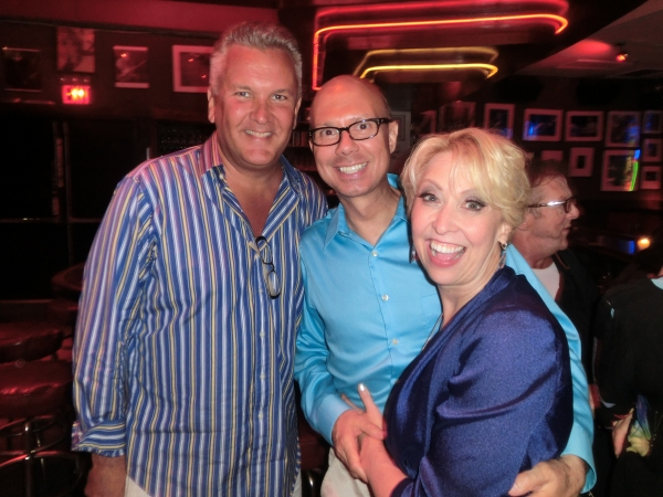 Richard Hillman, Richie Ridge, Julie Halston at Julie Halston Brings CLASSICAL JULIE to Birdland!