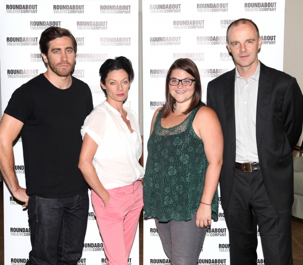 Jake Gyllenhaal, Michelle Gomez, Annie Funke & Brian F. O'Byrne attending the Meet &  Photo
