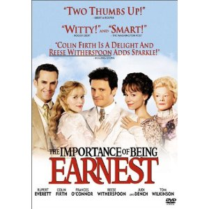 The Importance of Being Earnest  Video