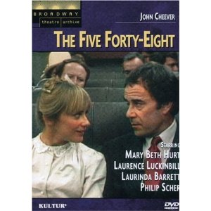 a review of john cheevers short story the five forty eight Terrence mcnally (teleplay), john cheever (based on a story by)  the five  forty-eight see more »  this mini-movie made of cheever's short story is  successful because it doesn't attempt to adhere  7 of 7 people found this review  helpful.