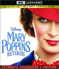 Mary Poppins Returns Cover
