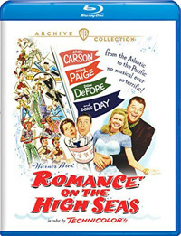 Romance on the High Seas Cover