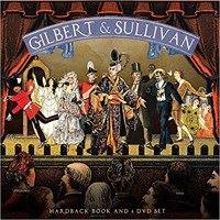 Gilbert & Sullivan: Hardback Book and 4 DVD Set Cover
