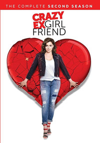 Crazy Ex-Girlfriend: The Complete Second Season Cover