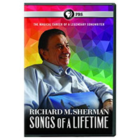 Richard M. Sherman: Songs of a Lifetime Cover