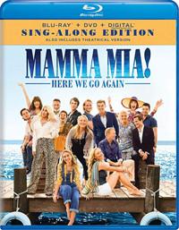 Mamma Mia! Here We Go Again Cover