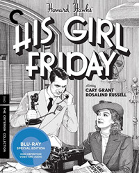 His Girl Friday The Criterion Collection Cover