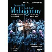 Rise and Fall of the City of Mahagonny  Cover