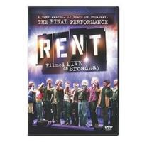 Rent: Filmed Live on Broadway Cover