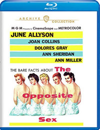 The Opposite Sex Blu-Ray Cover