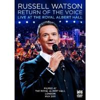 Russell Watson: Live at the Albert Hall Cover