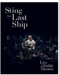 Last Ship - Live at the Public Theater Cover