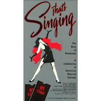 That's Singing: Best of Broadway Cover