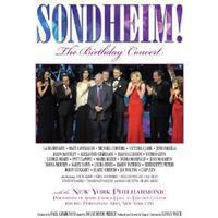 Sondheim: The Birthday Concert  Cover