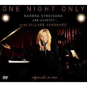 One Night Only Barbra Streisand and Quartet at The Village Vanguard Video