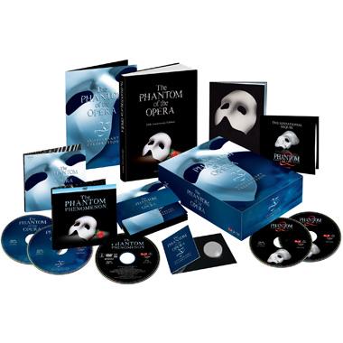 Phantom of the Opera - 25th Anniversary Celebration Box Set Video