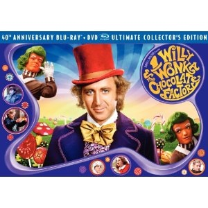 Willy Wonka & the Chocolate Factory: 40th Anniversary Edition Video